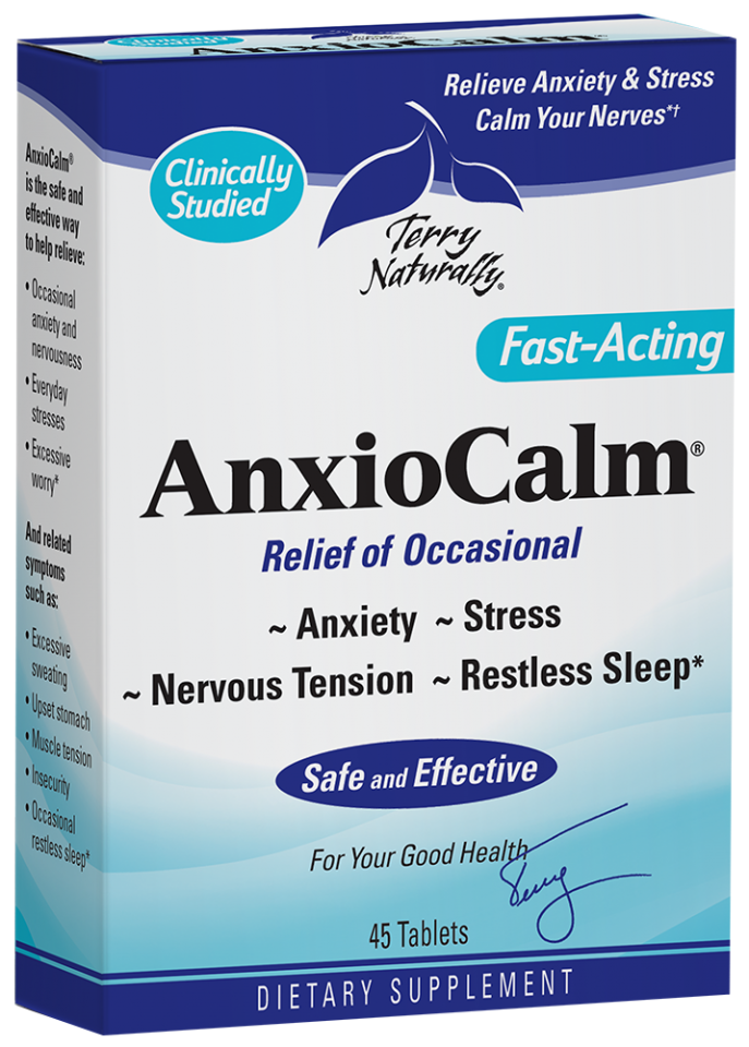Fast-acting Relieve Anxiety & Stress Dietary Supplement | The