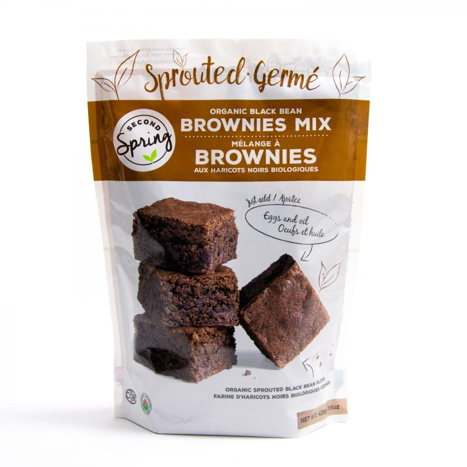 Organic Sprouted Black Bean Brownie Mix The Natural Products Brands Directory