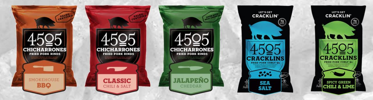 4505 Chicharrones Fried Pork Rinds The Natural Products Brands Directory