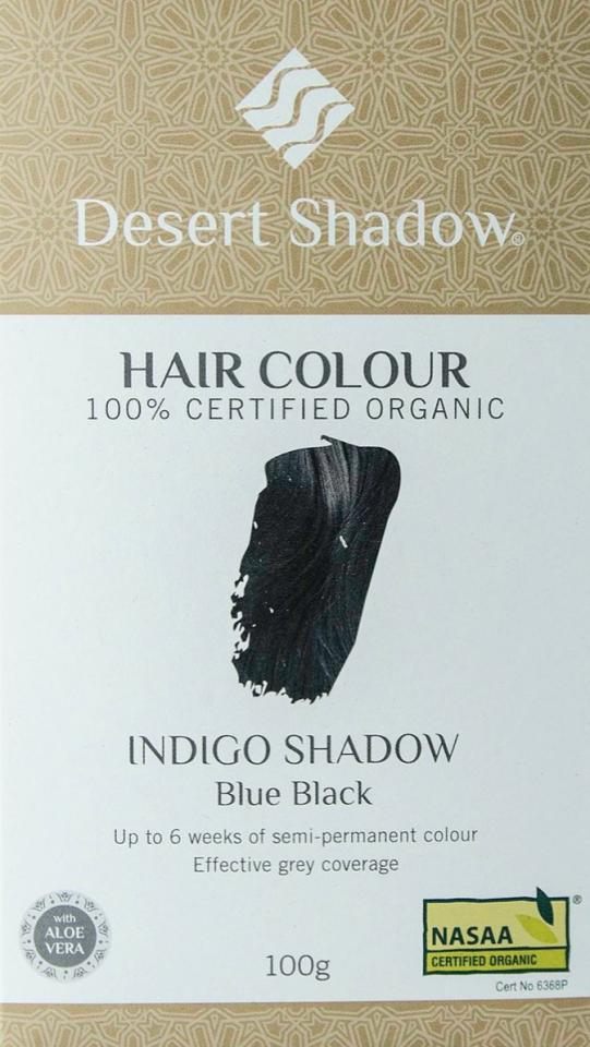 Indigo Shadow Blue Black Hair Colour The Natural Products Brands