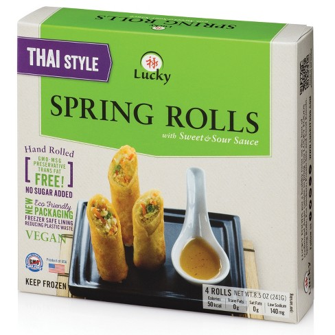 Thai Style Spring Rolls With Sweete-sour Sauce | The Natural