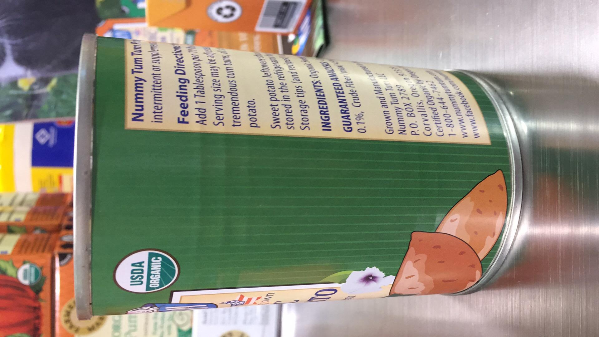 ... Organic Sweet Potato Pet Food Supplement For Dogs ... & Organic Sweet Potato Pet Food Supplement For Dogs u0026 Cats | The ...