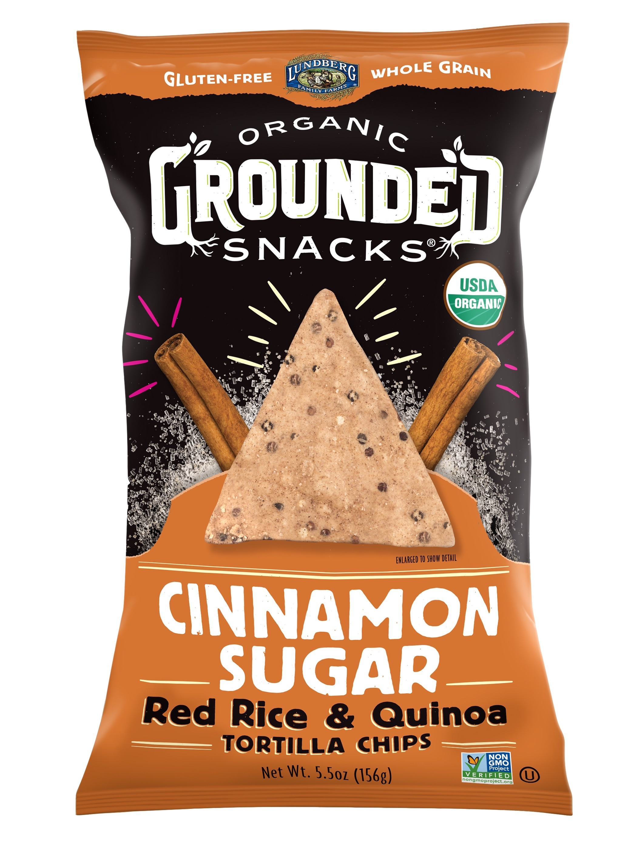 Red Rice & Quinoa Chips – Cinnamon Sugar | The Natural Products