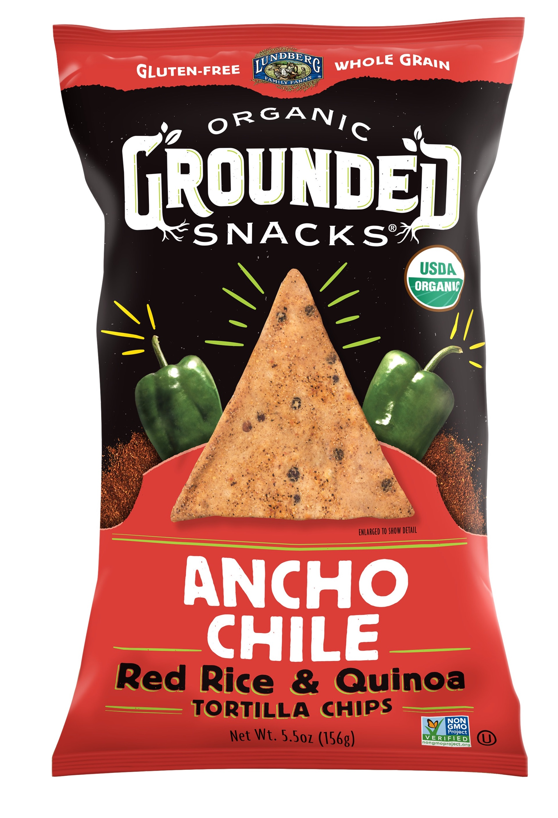 Red Rice & Quinoa Chips – Ancho Chile | The Natural Products Brands