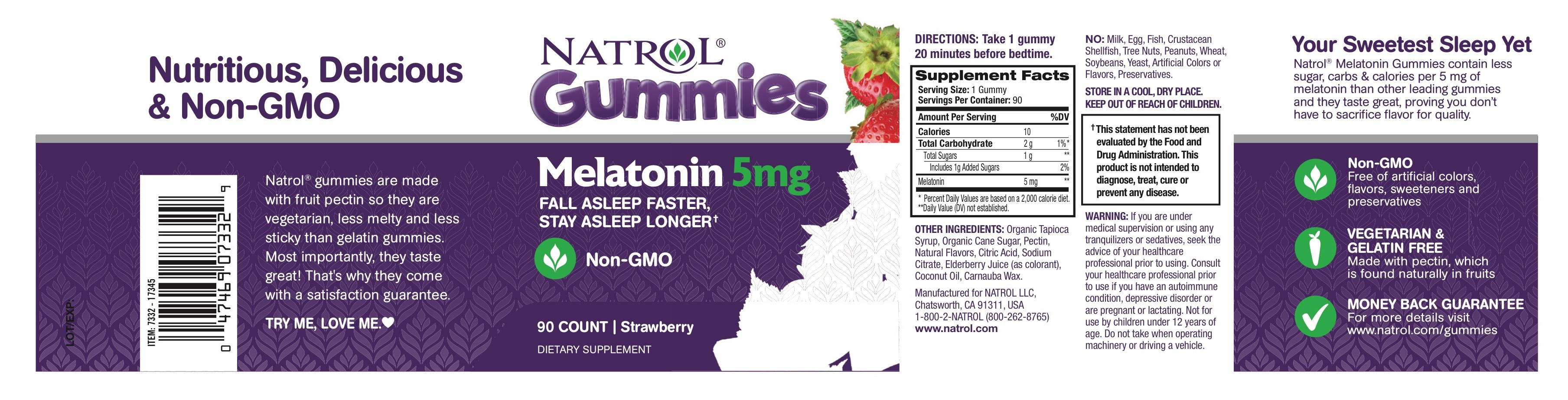 Melatonin Gummies Dietary Supplement Melatonin Gummies Dietary Supplement