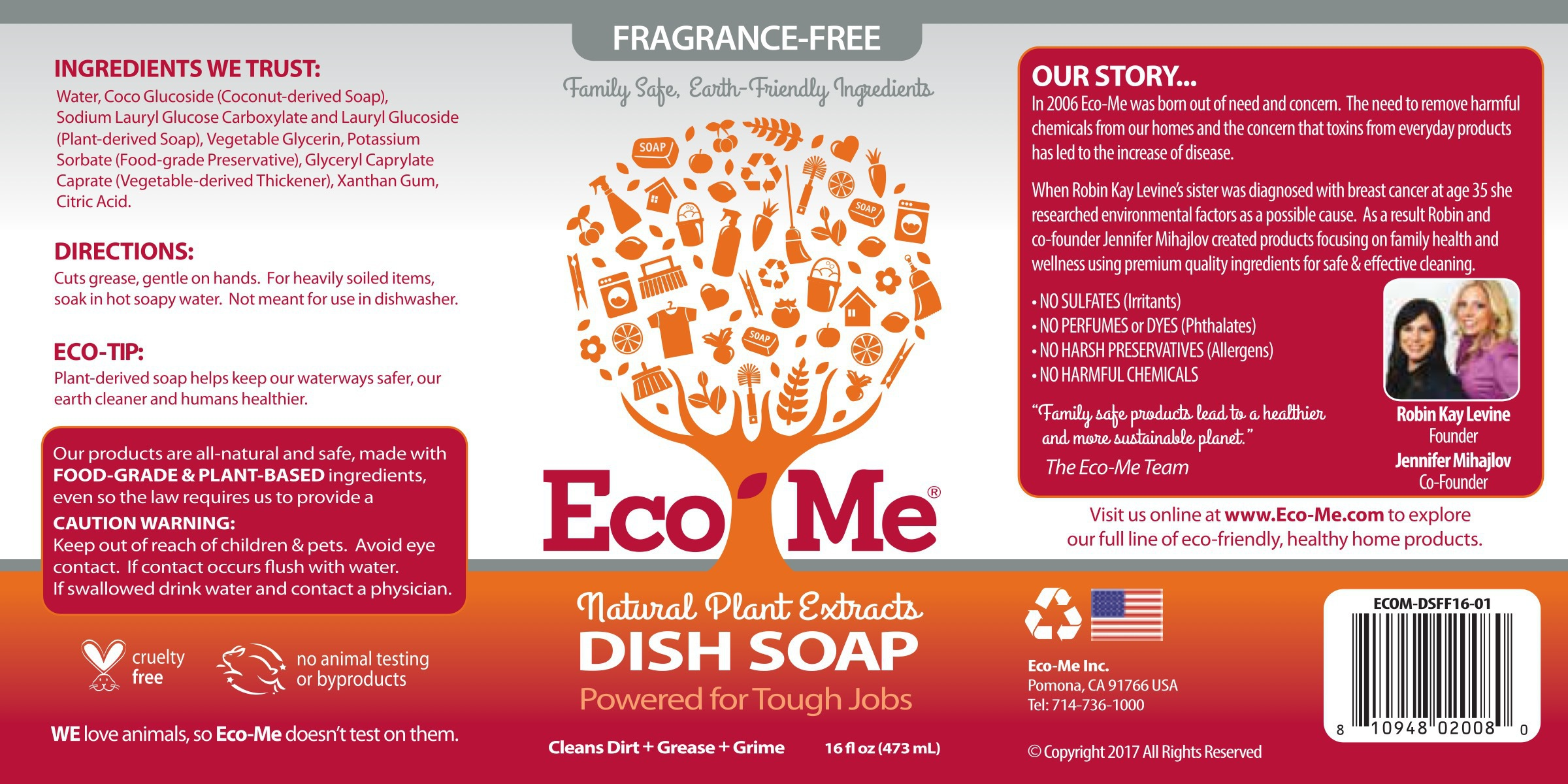 Natural Plant Extracts Dish Soap | The Natural Products