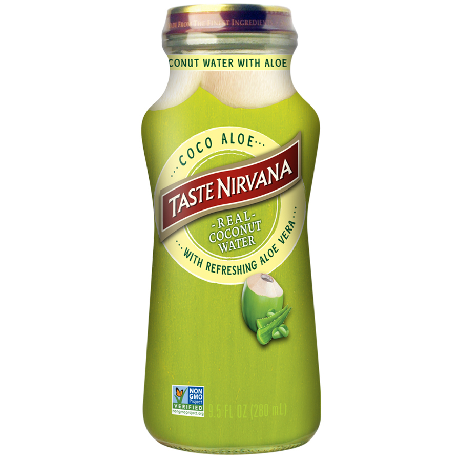 Real Coconut Water With Aloe Vera
