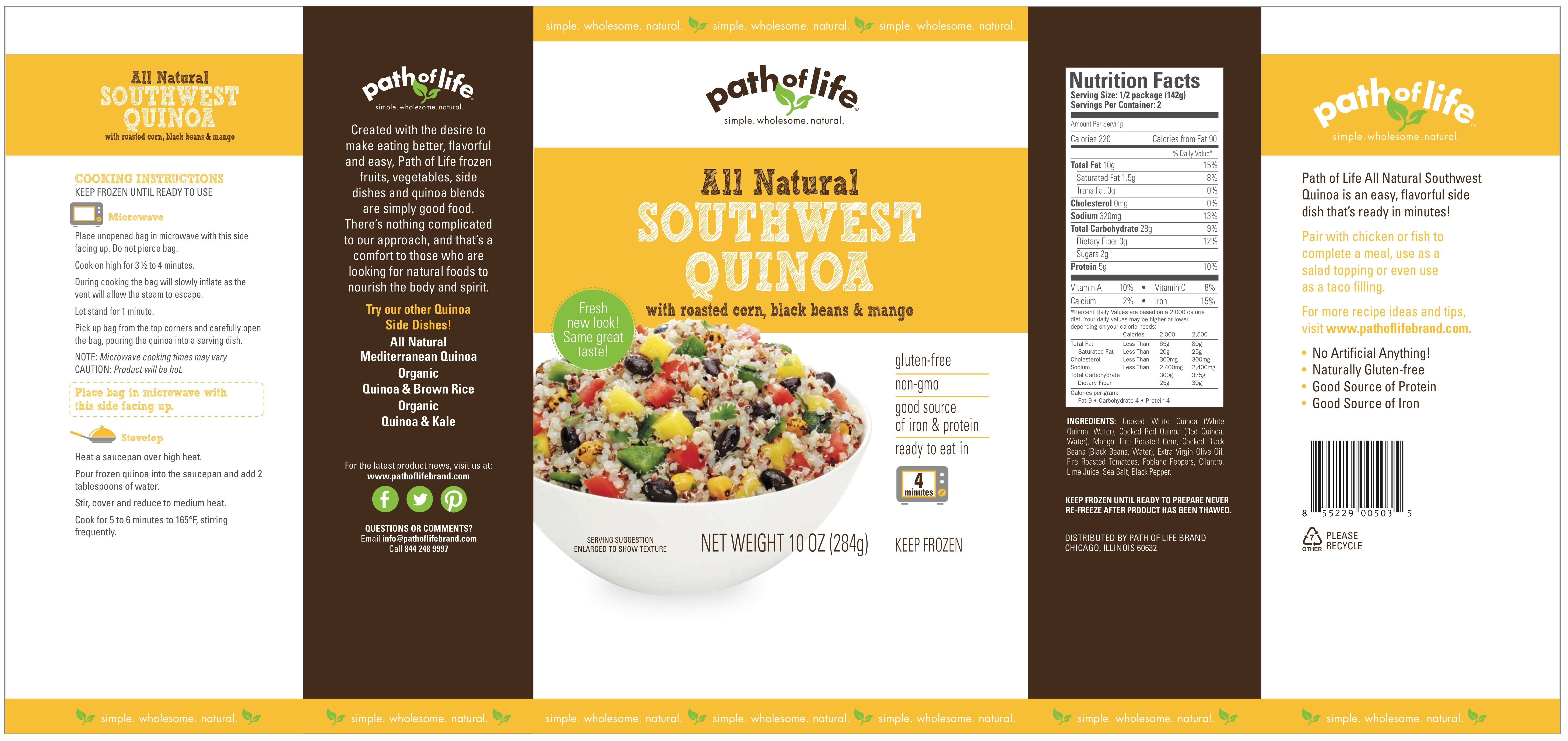 Southwest quinoa frozen food frozen dinners frozen dinners southwest quinoa southwest quinoa forumfinder Image collections