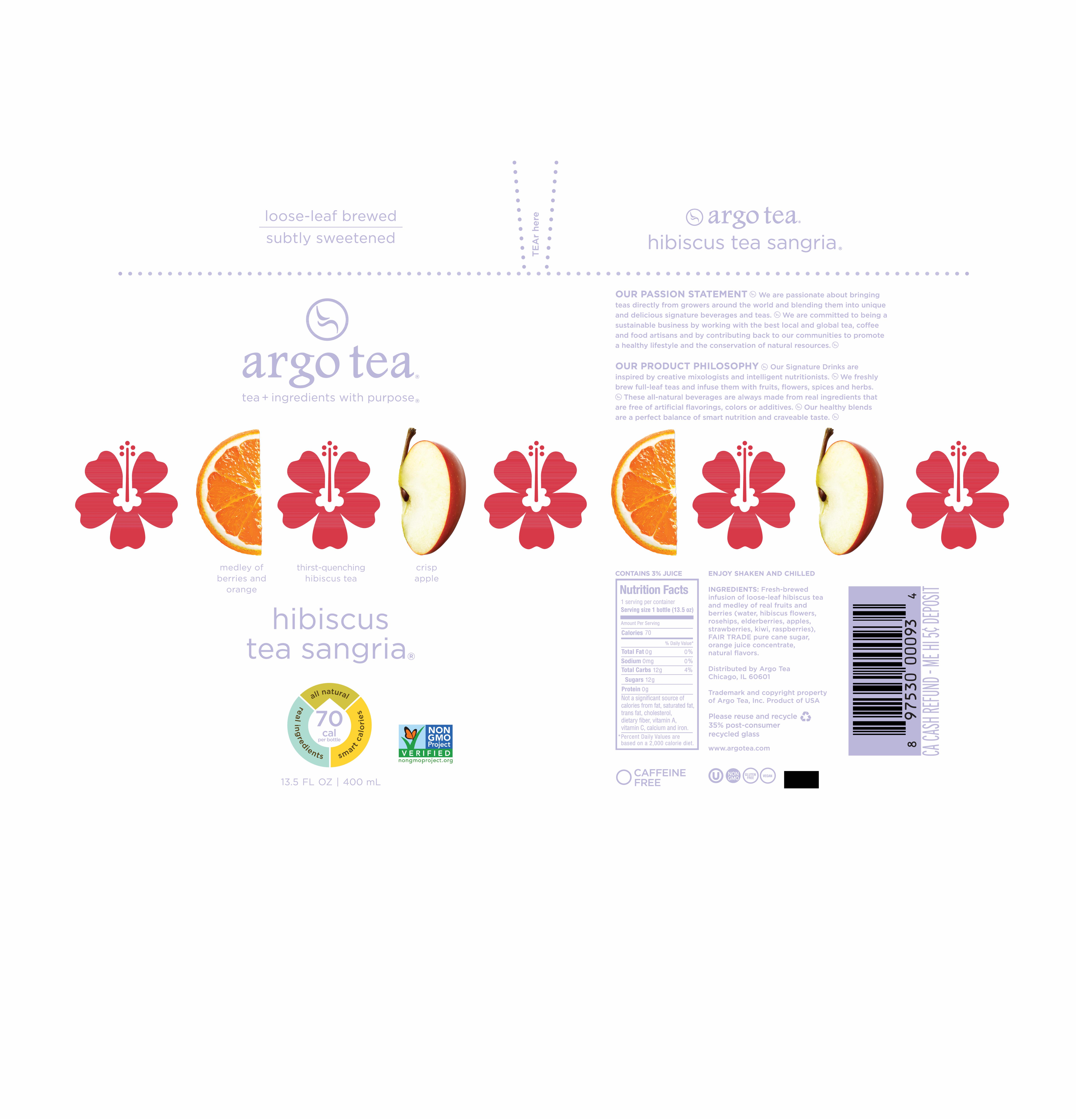 Hibiscus Tea Sangria The Natural Products Brands Directory