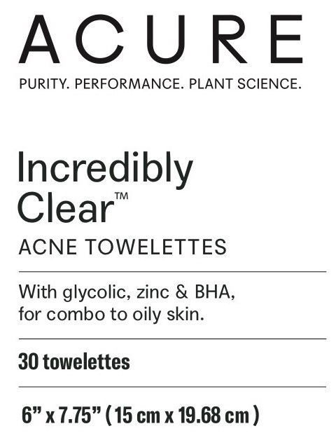 Acne Towelettes   The Natural Products Brands Directory
