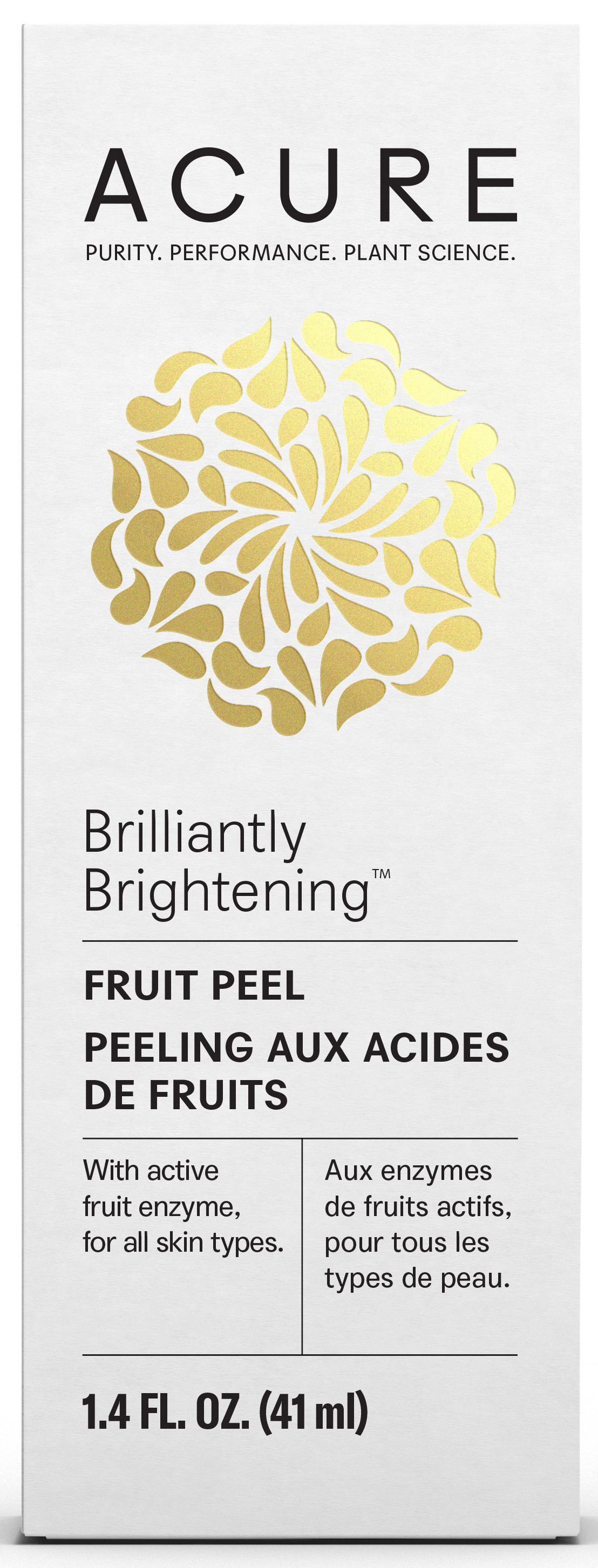Fruit Peel With Active Fruit Enzyme, For All Skin Types