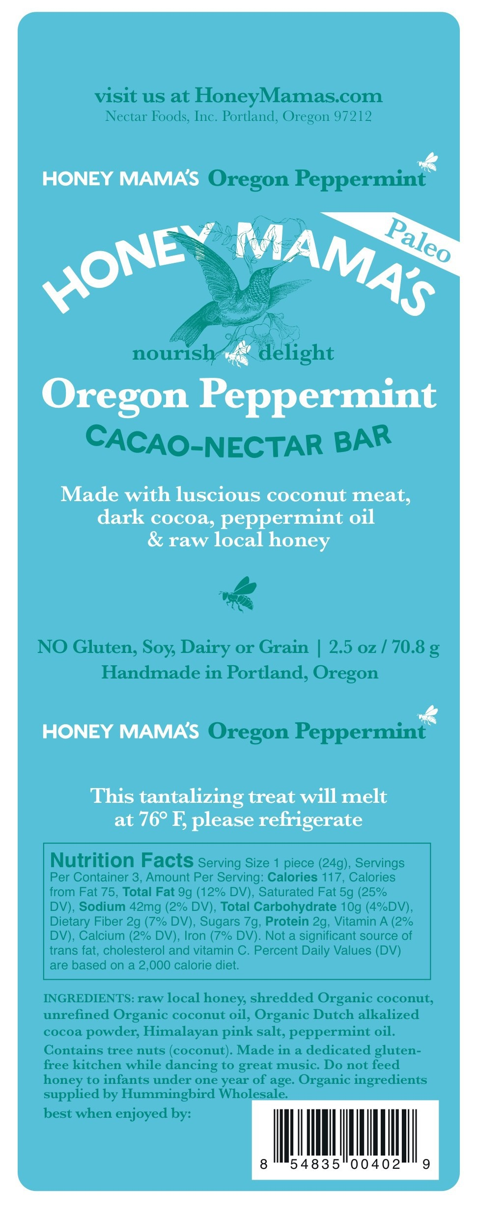 Cacao-nectar Bar | Snacks, cookies & candy, -Candy, --Candy - candy ...
