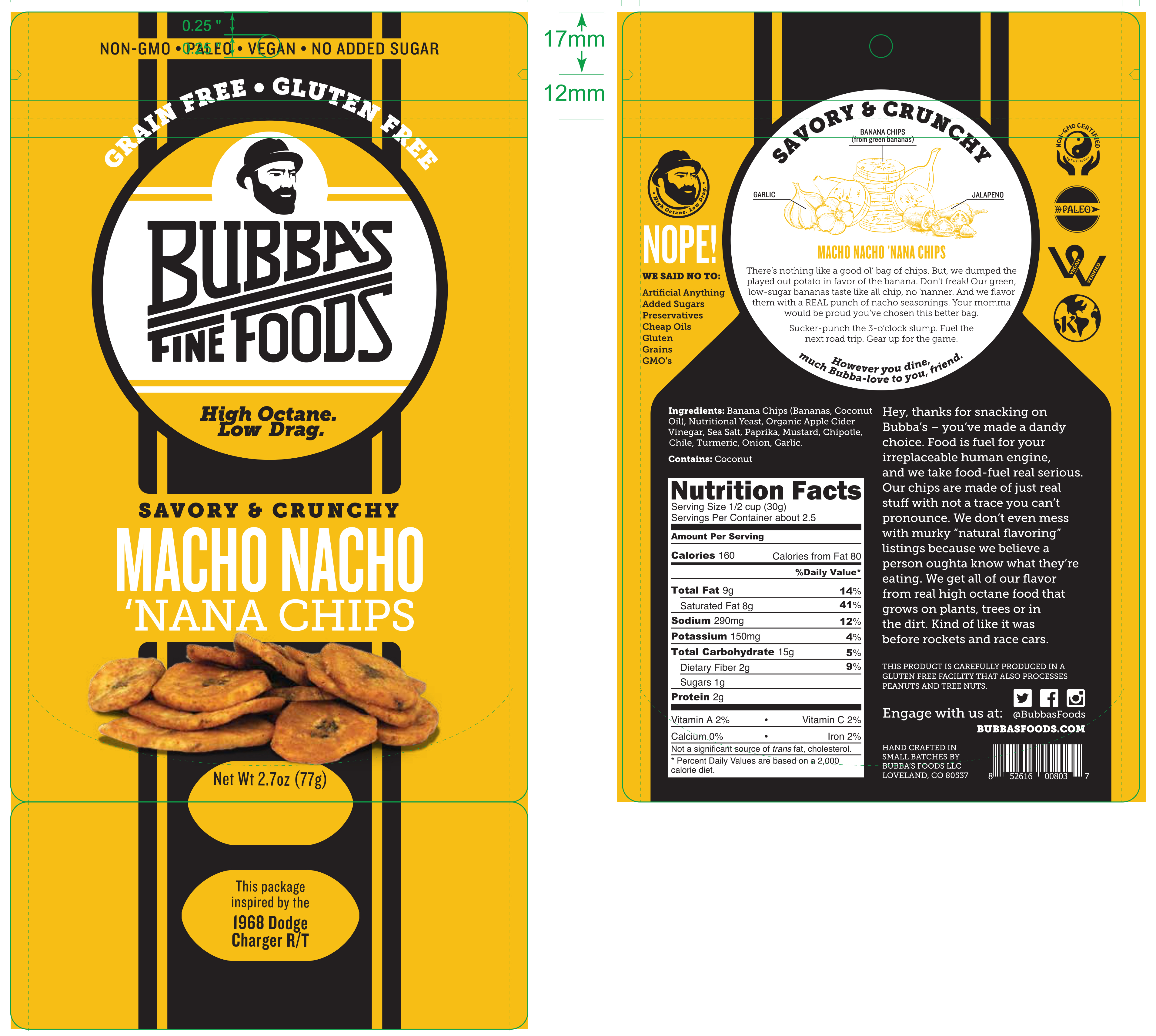 8c232ef0620 Savory & Crunchy 'nana Chips | The Natural Products Brands Directory