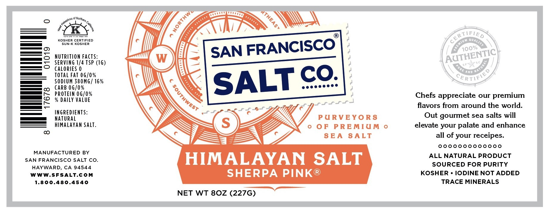 Sherpa Pink Himalayan Salt | The Natural Products Brands