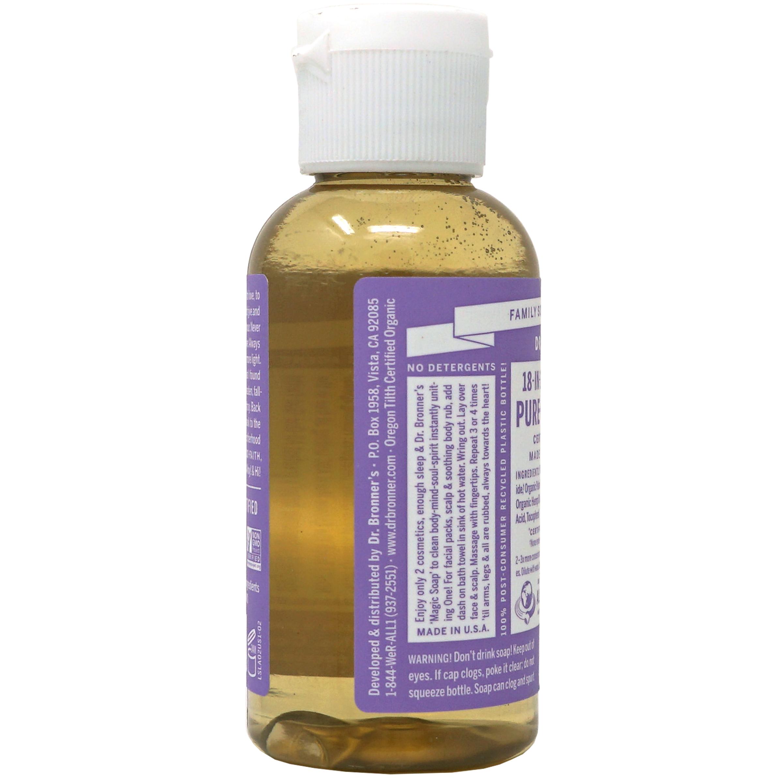 18-in-1 Pure-castile Soap, Hemp Lavender | The Natural
