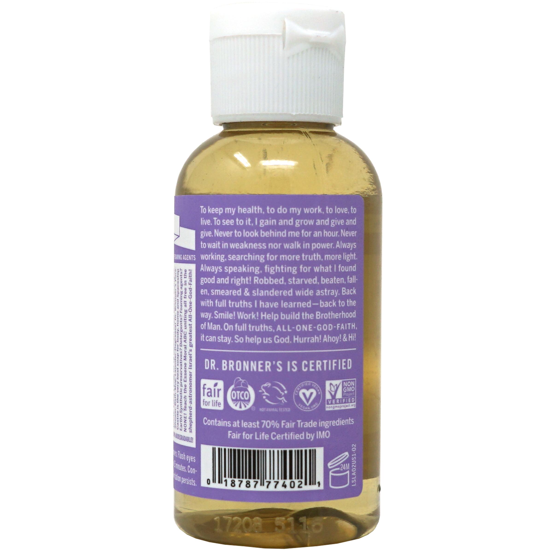 18-in-1 Pure-castile Soap, Hemp Lavender | The Natural ...