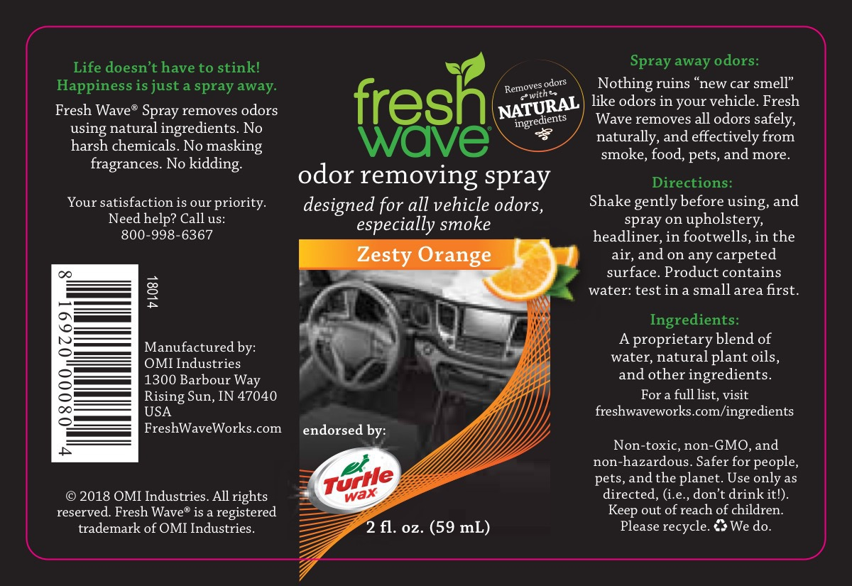 ODOR REMOVING SPRAY, ZESTY ORANGE | The Natural Products
