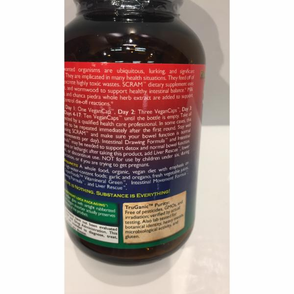 SCRAM DIETARY SUPPLEMENT VEGAN CAPS   The Natural Products