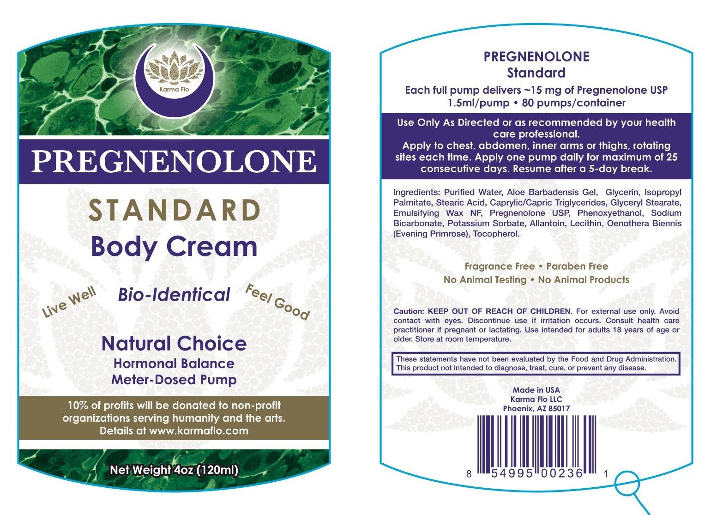 PREGNENOLONE STANDARD BODY CREAM   The Natural Products
