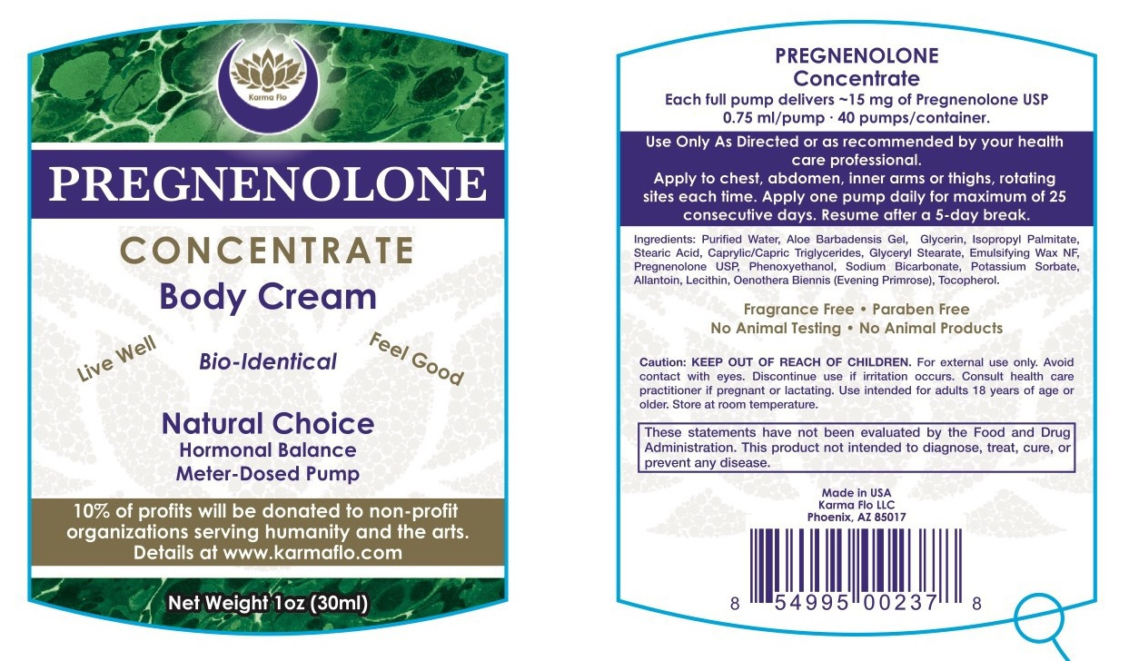 PREGNENOLONE CONCENTRATE BODY CREAM   The Natural Products