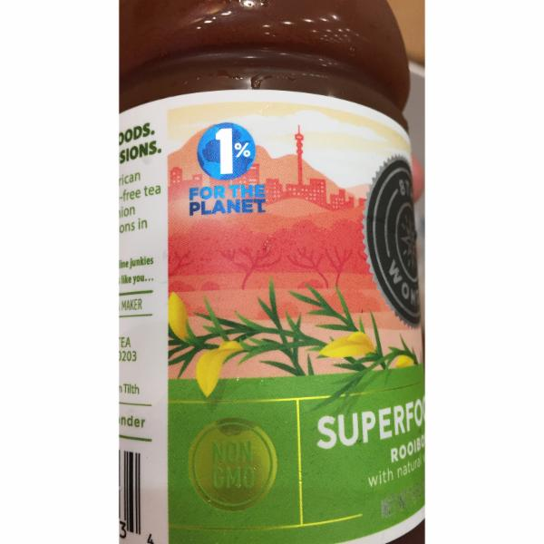ROOIBOS RED WITH NATURAL VANILLA FLAVOR SUPERFOOD TEA | The