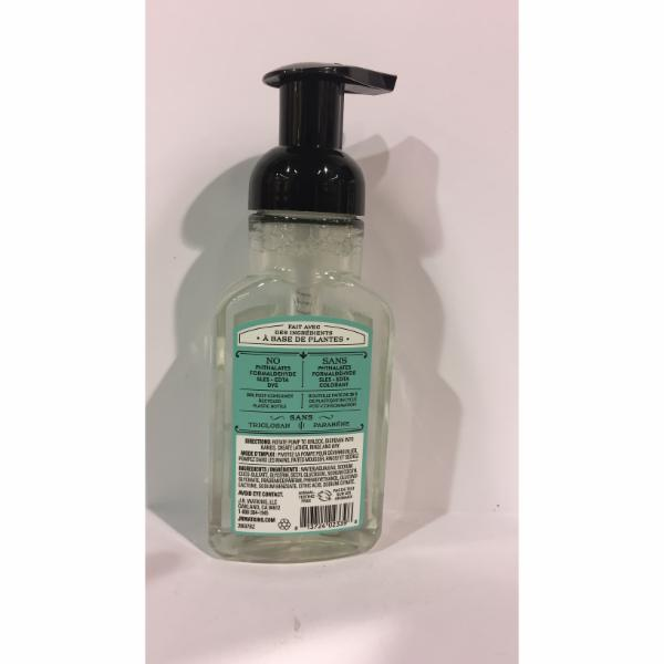 Foaming Hand Soap Agave Water The Natural Products Brands Directory