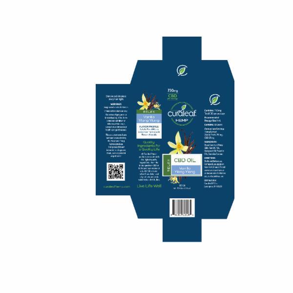 RELAX CBD OIL, VANILLA YLANG YLANG | The Natural Products