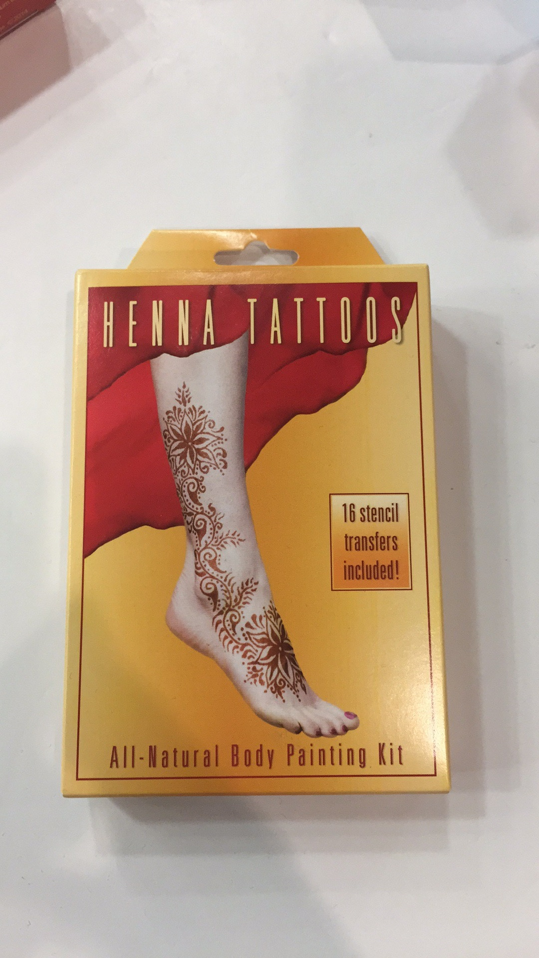 Henna Tattoos Kit The Natural Products Brands Directory