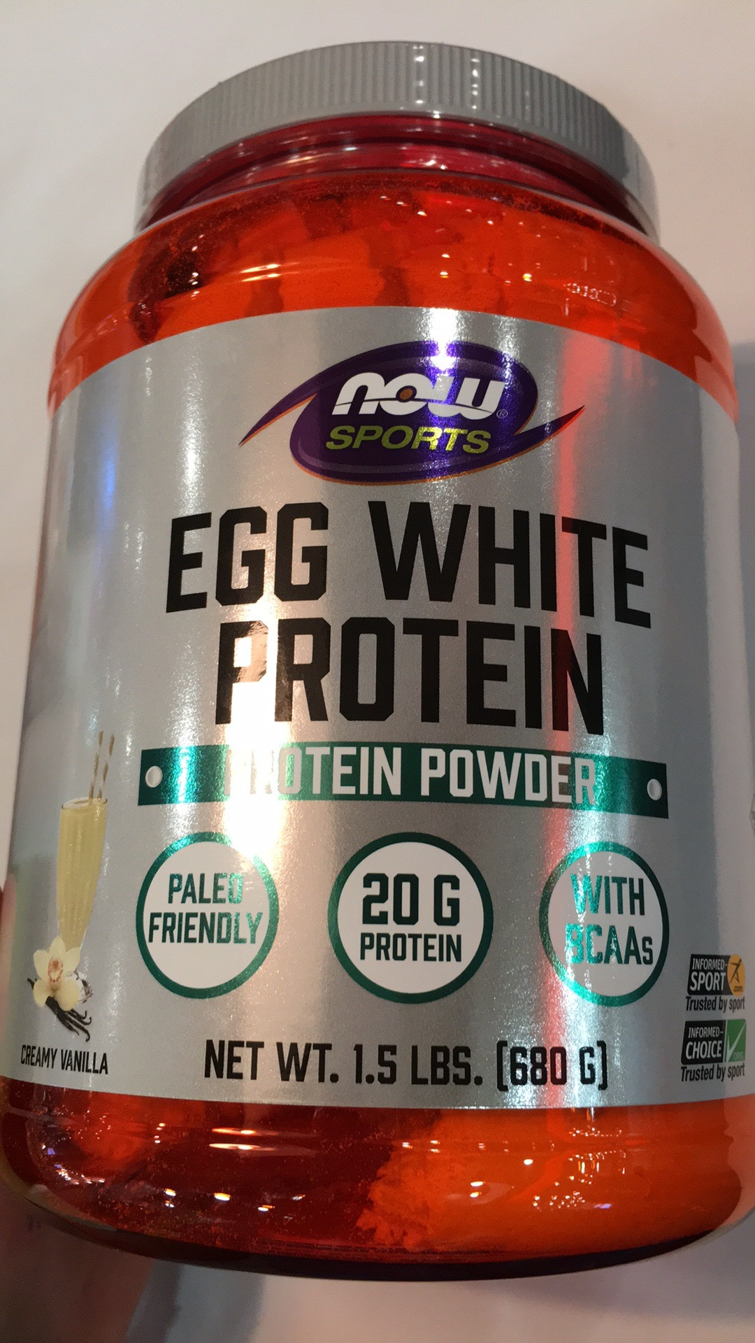 It's just a picture of Universal White Label Protein Powder