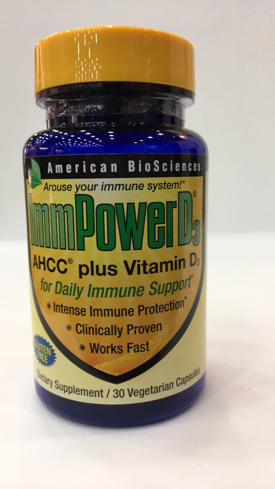 Immpower D3 Ahcc Plus Vitamin D3 Dietary Supplement | The