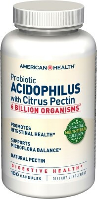 Probiotic Acidophilus With Citrus Pectin Dietary Supplement The