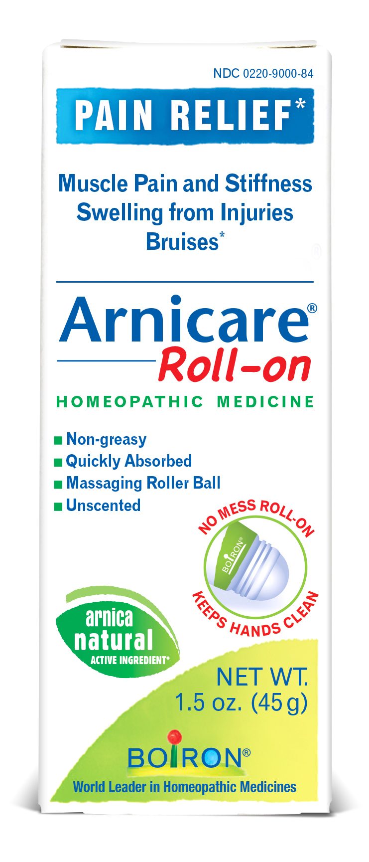 Pain Relief Roll-on Homeopathic Medicine   The Natural