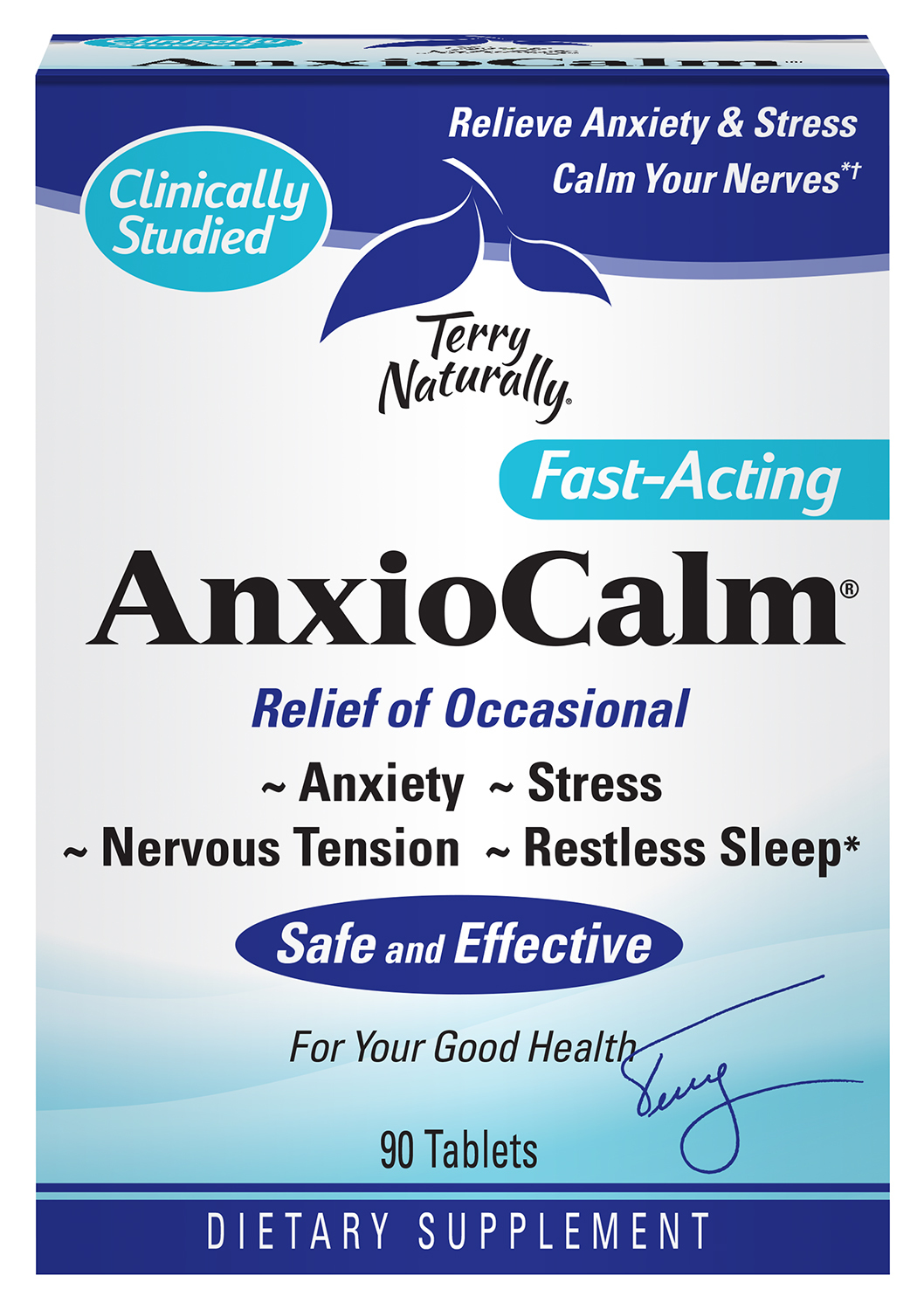 FAST-ACTING ANXIETY, STRESS, NERVOUS TENSION, RESTLESS SLEEP DIETARY