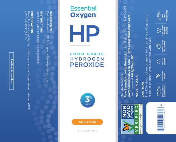 FOOD GRADE HYDROGEN PEROXIDE 3% USP SOLUTION | The Natural