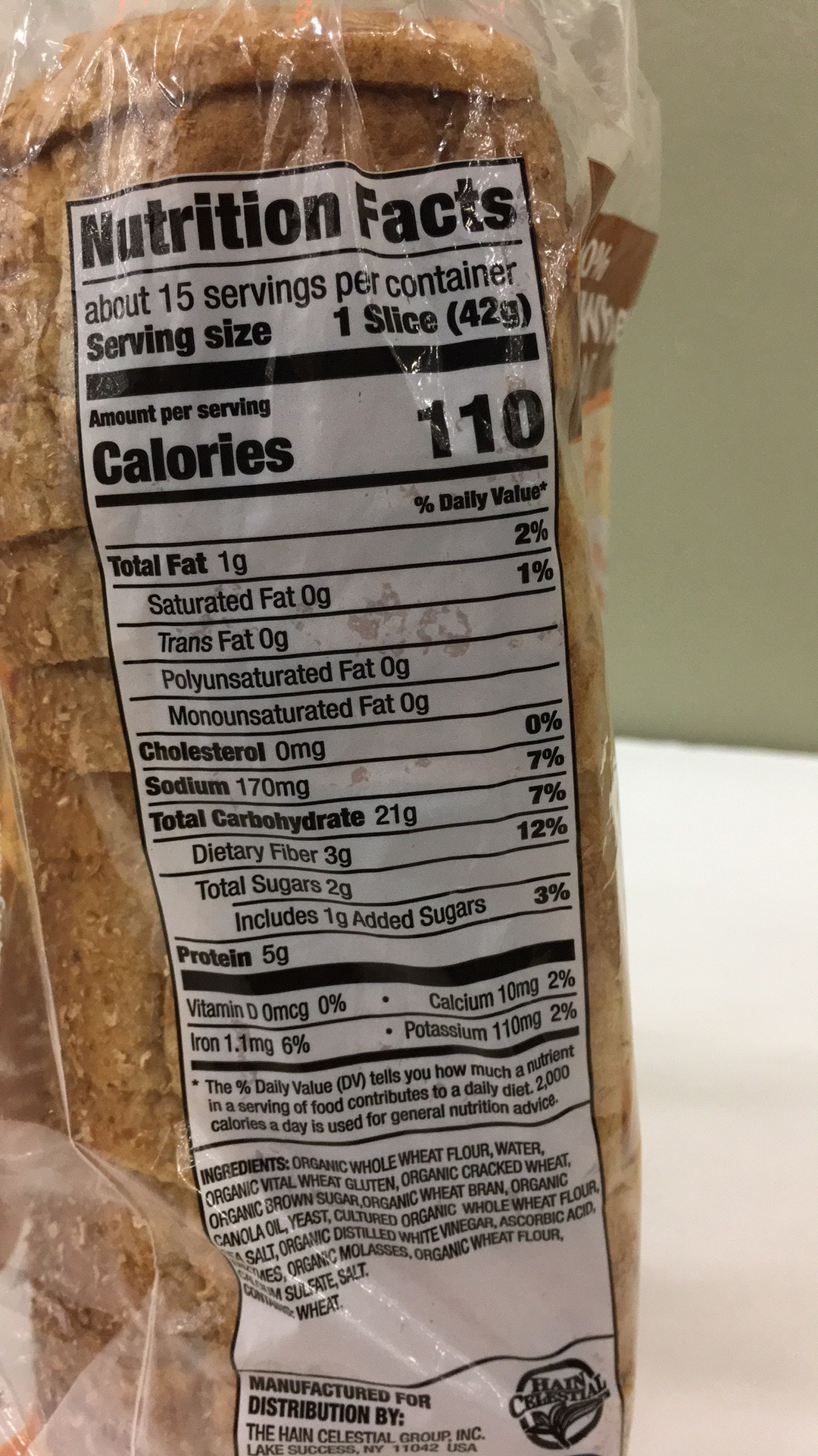 100% Whole Wheat Bread   The Natural Products Brands Directory