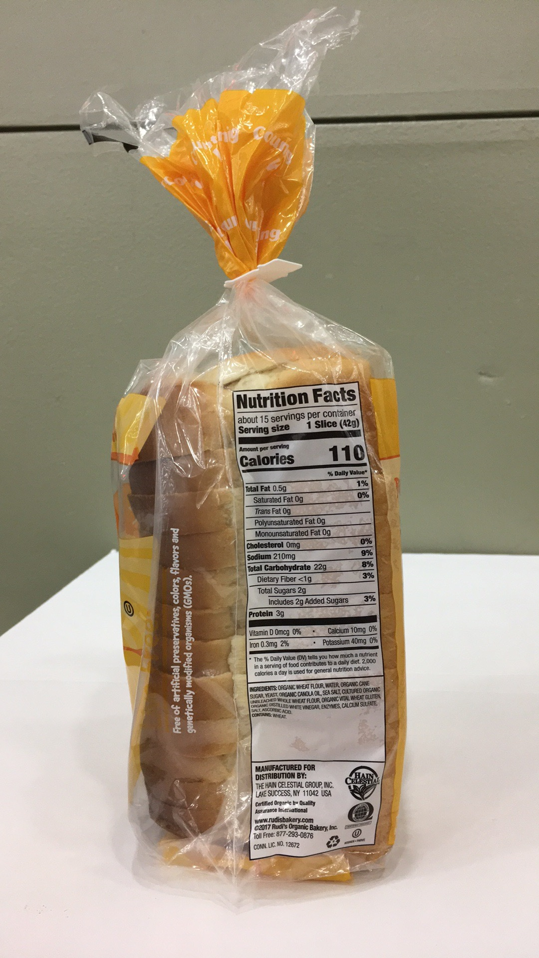 Country Morning White Bread | The Natural Products Brands