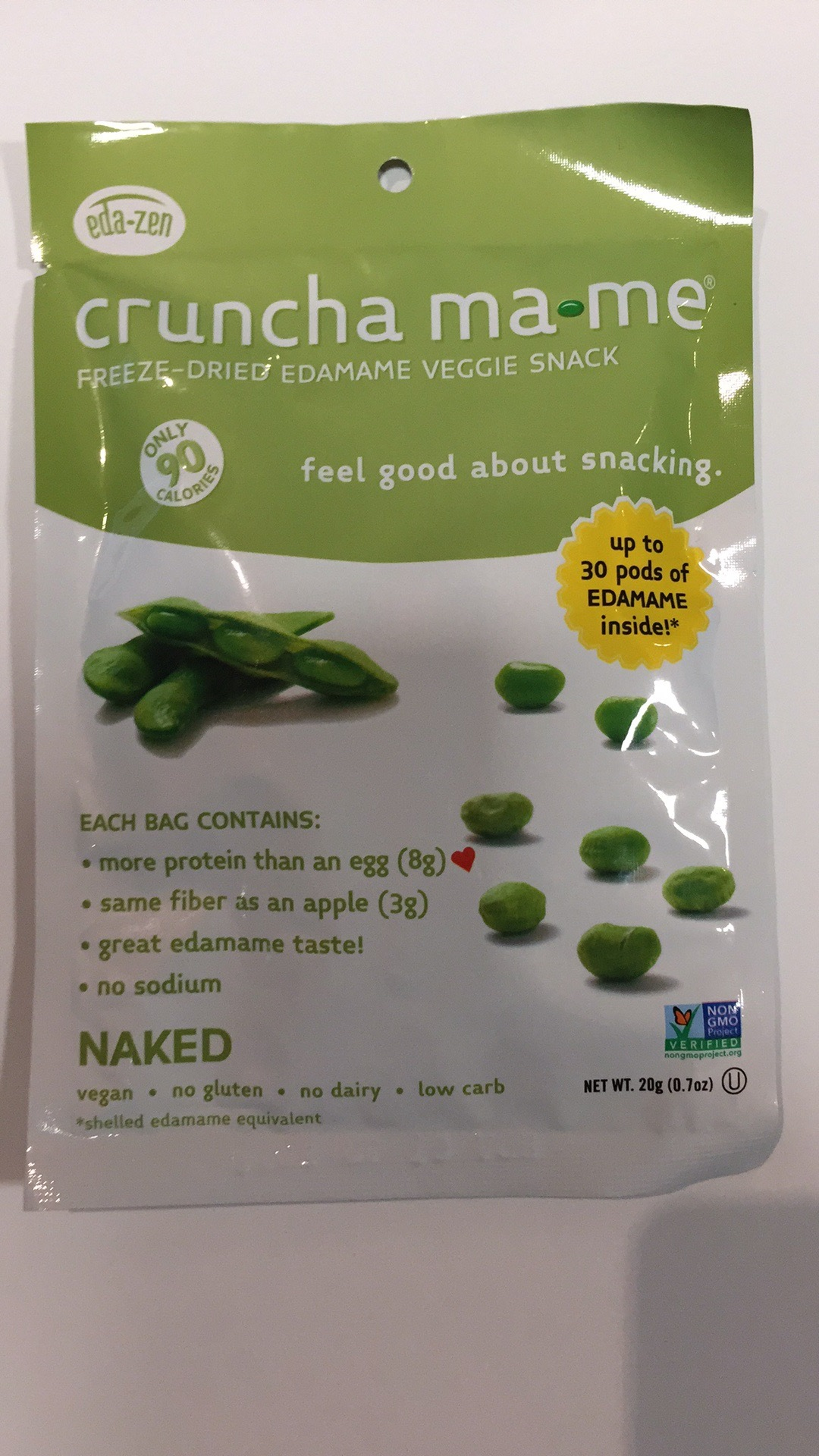 Freeze-dried Edamame Veggie Snack | The Natural Products