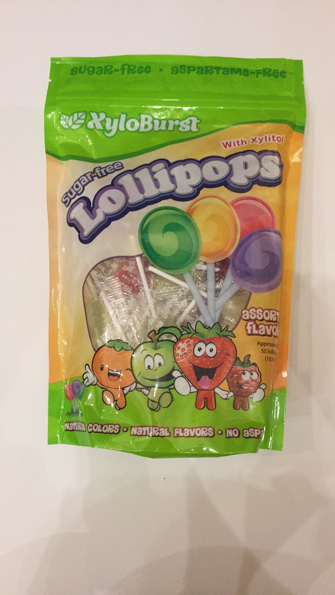 Sugar-free Lollipops | The Natural Products Brands Directory
