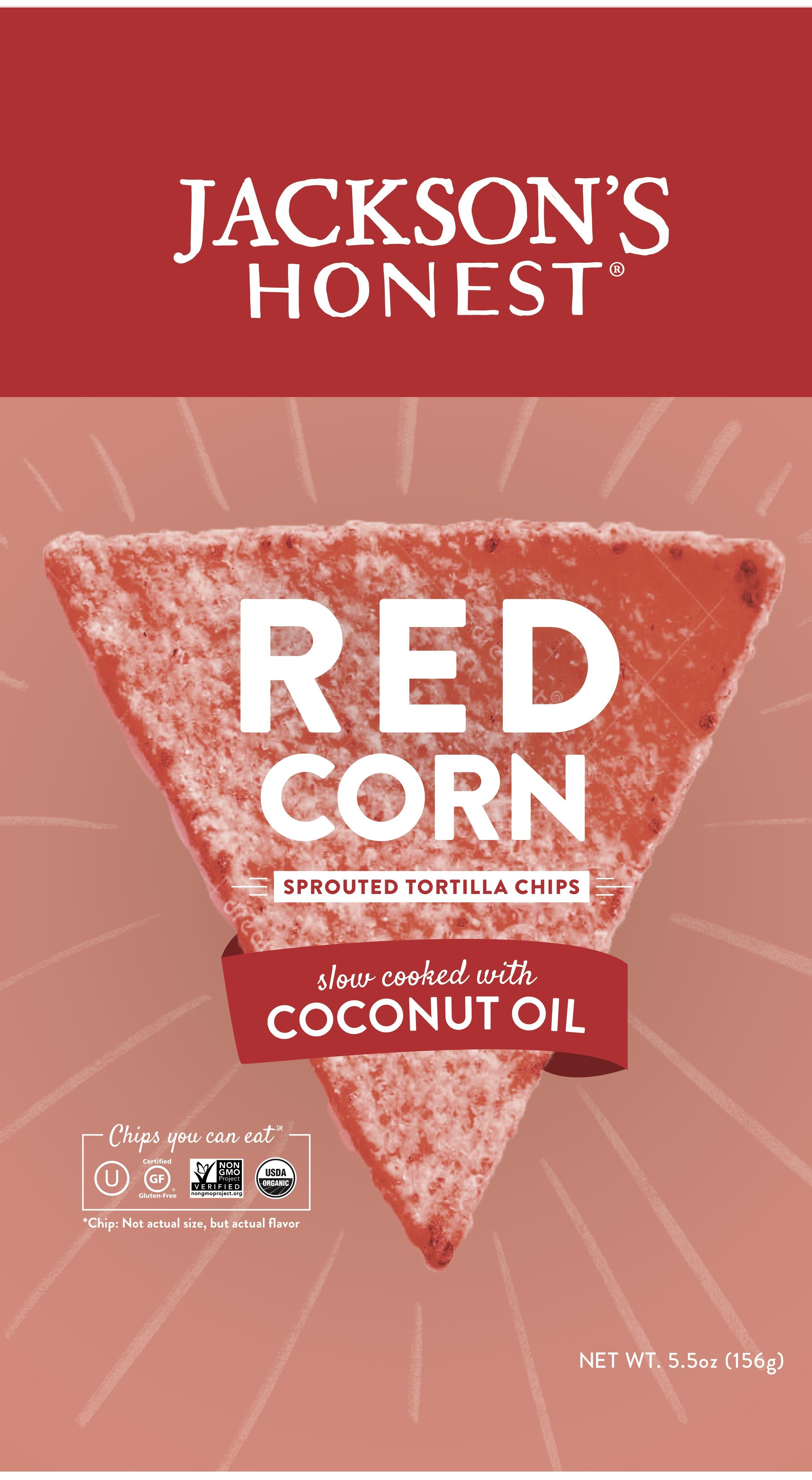 Red Corn Sprouted Tortilla Chips | The Natural Products Brands Directory