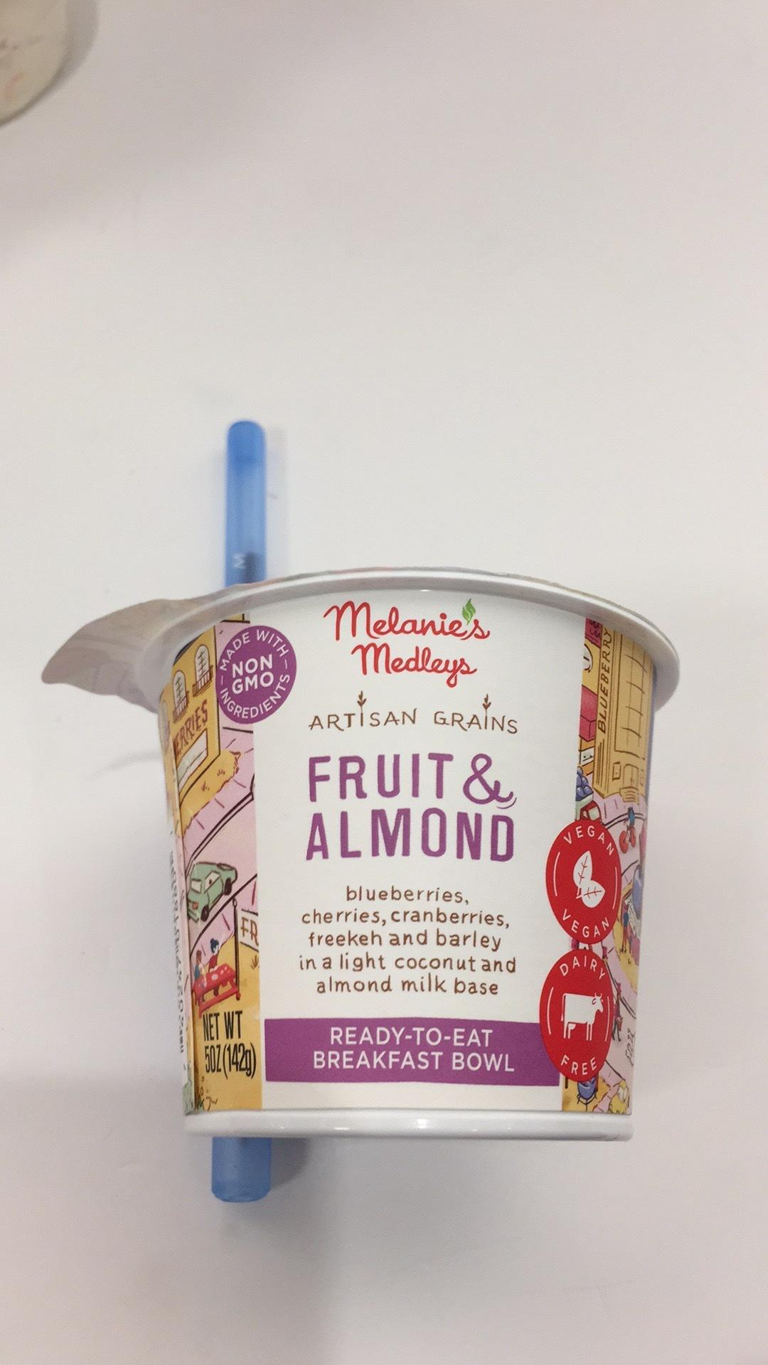 Fruit & Almond Artisan Grains Breakfast Bowl | The Natural