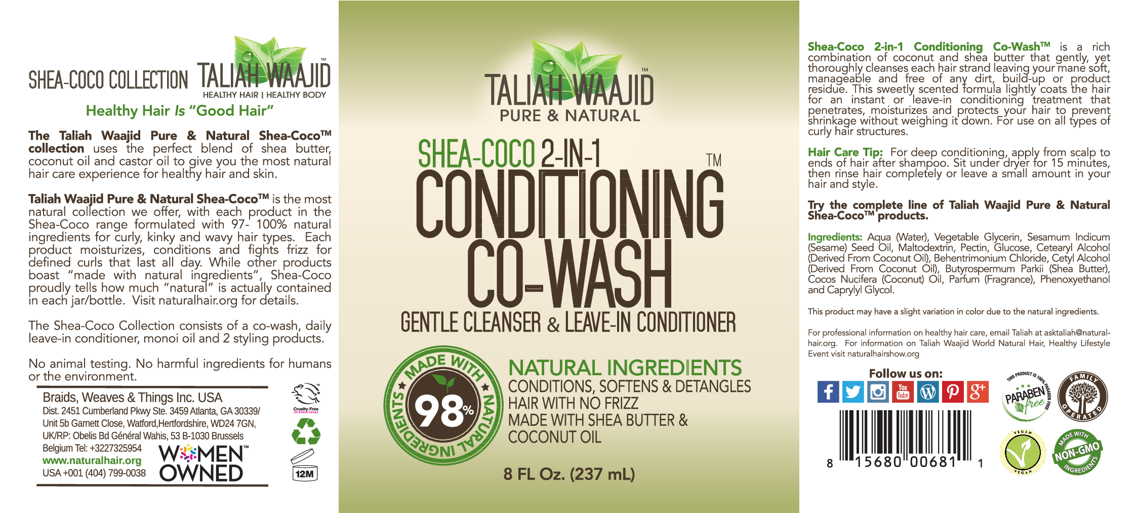Pleasing Shea Coco 2 In 1 Conditioning Co Wash Gentle Cleanser Leave In Schematic Wiring Diagrams Phreekkolirunnerswayorg