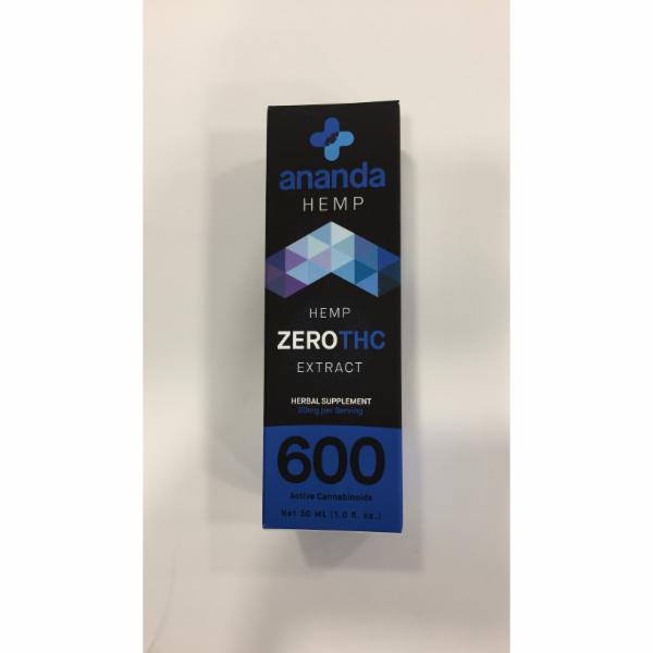ZERO THC EXTRACT HEMP HERBAL SUPPLEMENT | The Natural