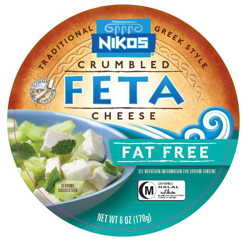 TRADITIONAL GREEK STYLE CRUMBLED FAT FREE FETA CHEESE | The Natural
