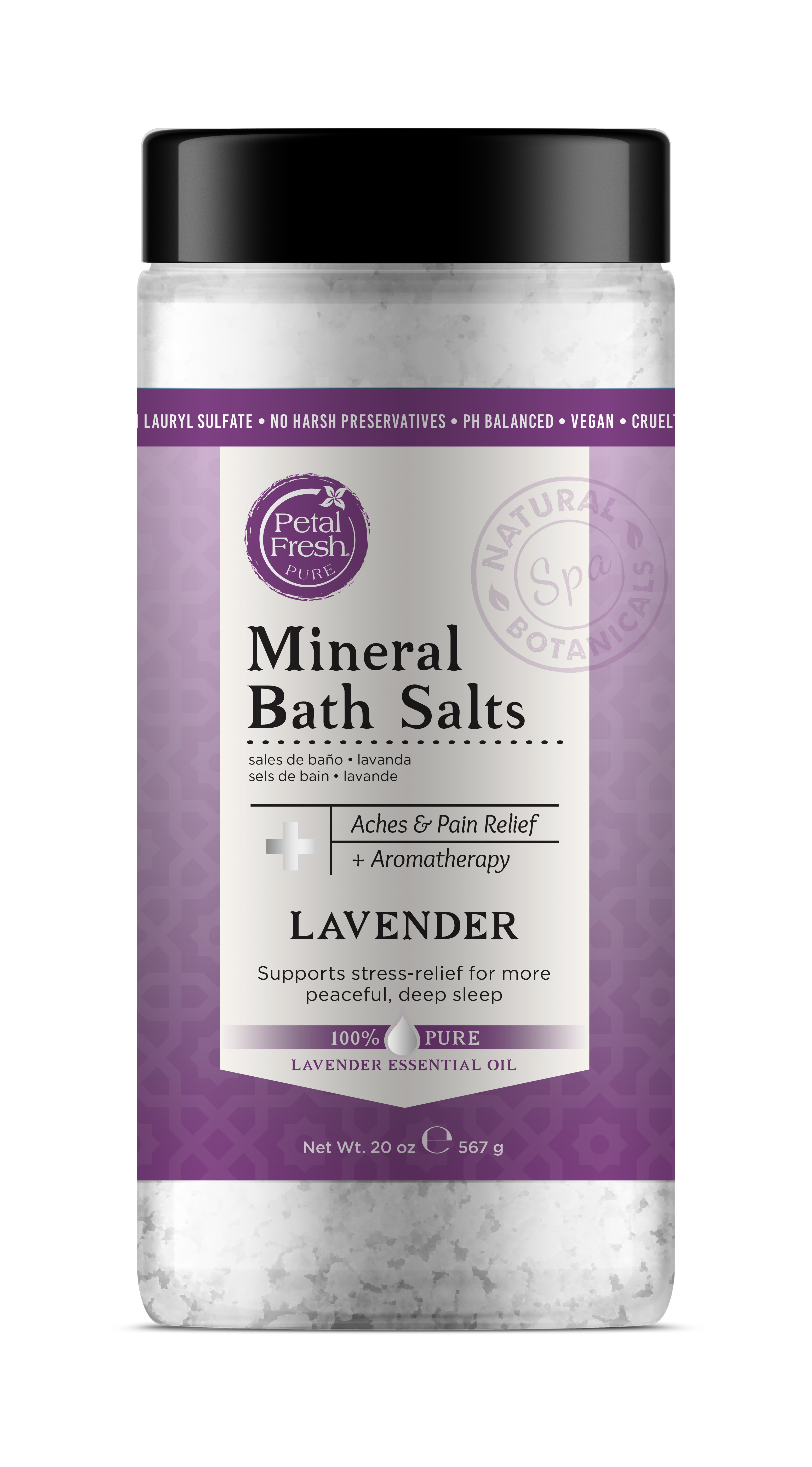 Mineral Bath Salts Aches Pain Relief Aromatherapy