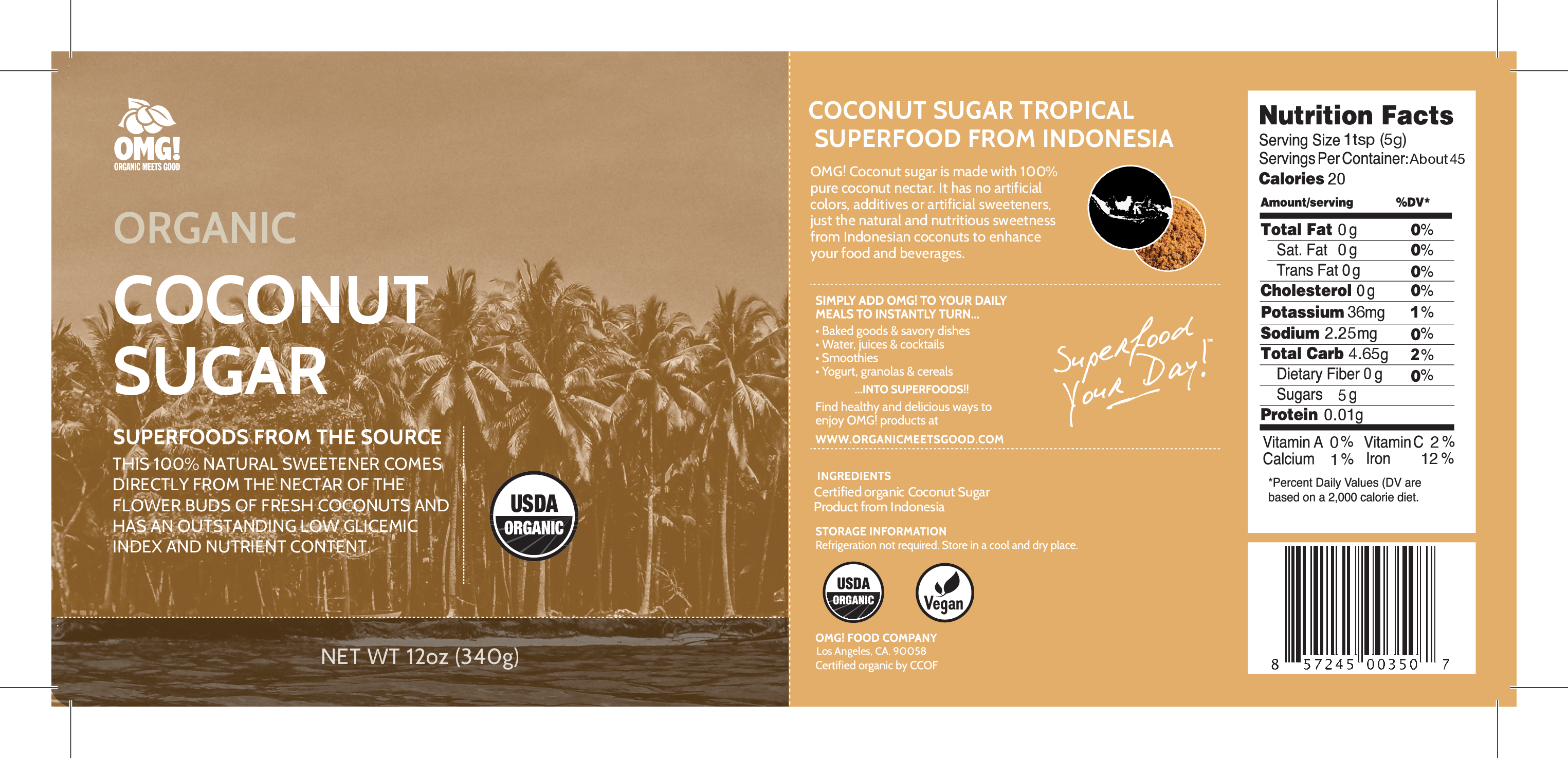 ORGANIC COCONUT SUGAR | The Natural Products Brands Directory