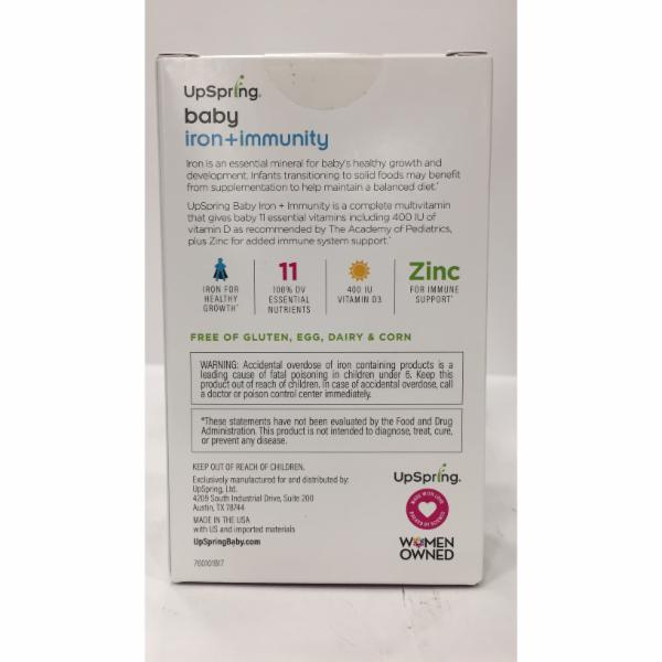 IRON + IMMUNITY, MULTI + IRON + ZINC DIETARY SUPPLEMENT
