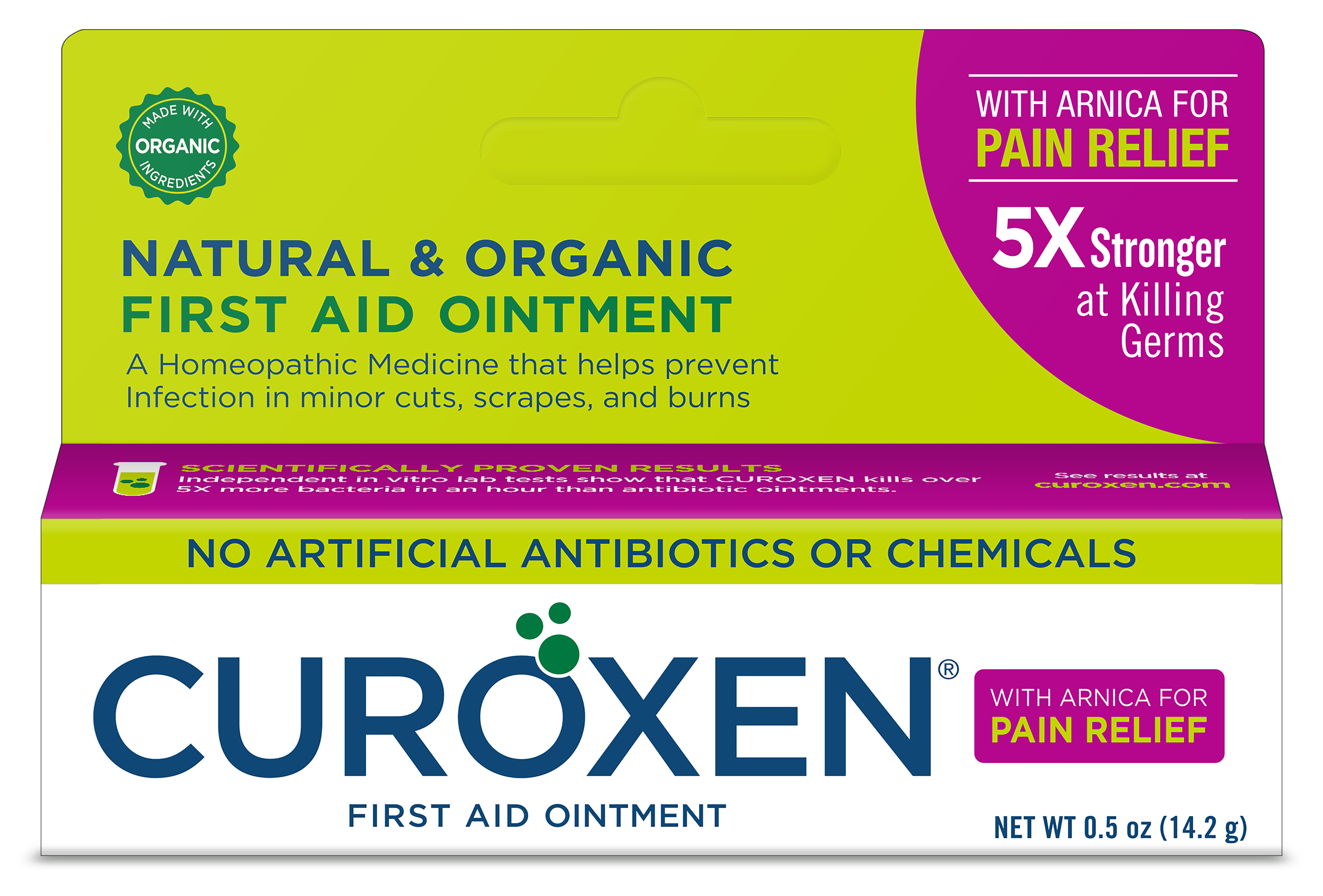 Natural & Organic First Aid Ointment With Arnica For Pain