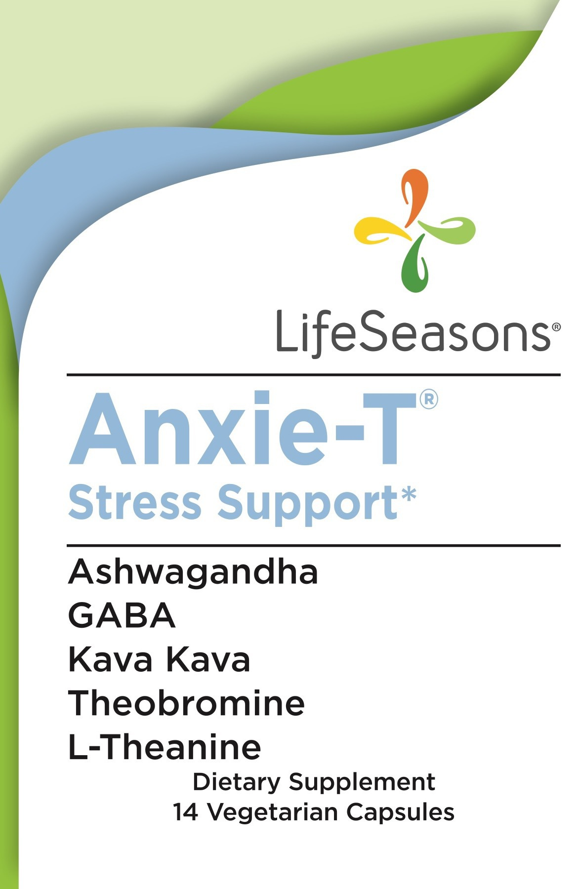 Anxie-t Stress Support Dietary Supplement Vegetarian