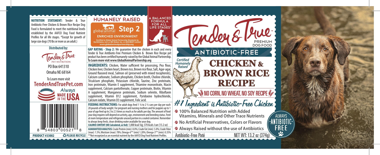 ANTIBIOTIC-FREE CHICKEN & BROWN RICE RECIPE PREMIUM DOG FOOD