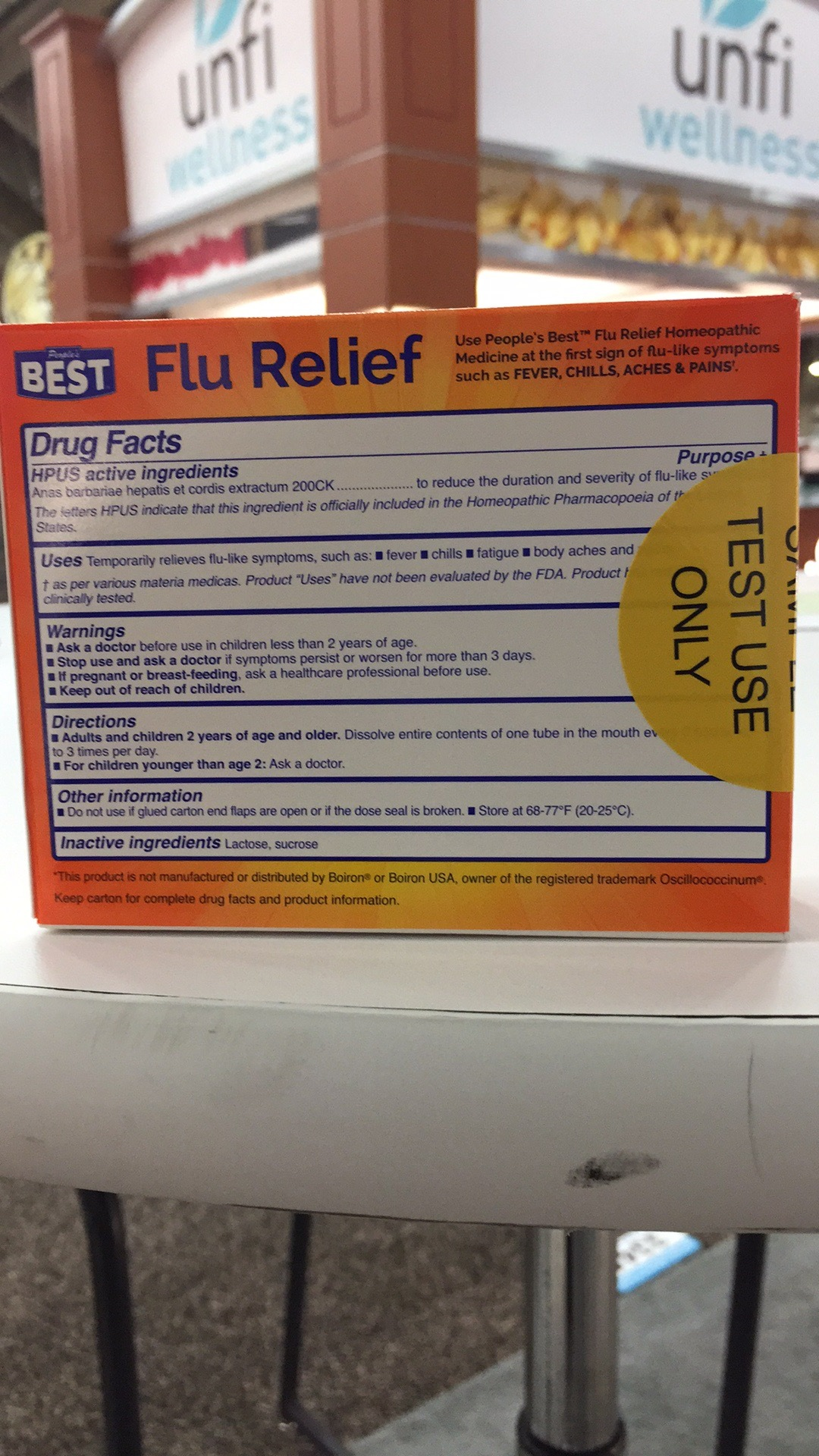 Flu Relief Homeopathic Medicine | The Natural Products
